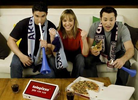Nueva Campaña Telepizza Eurocopa 2012
