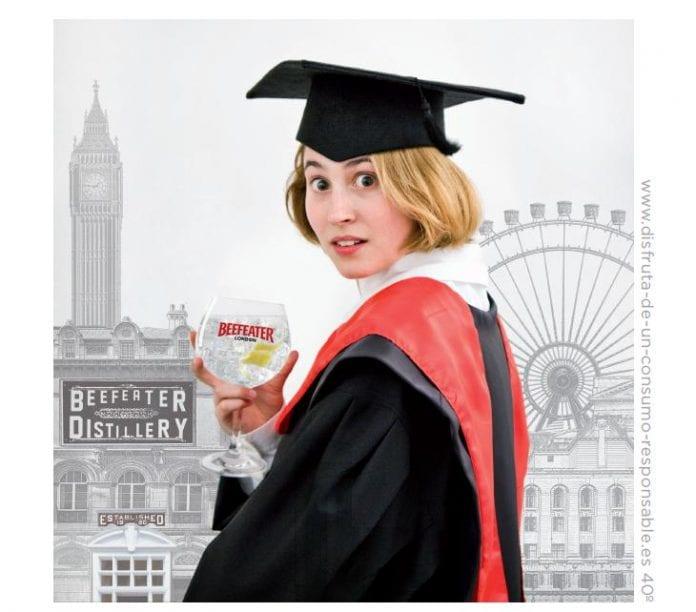 Nueva campaña de Beefeater: el beefeater london gin college