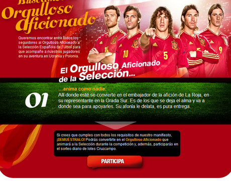 Nueva Campaña de Cruzcampo para la Eurocopa 2012