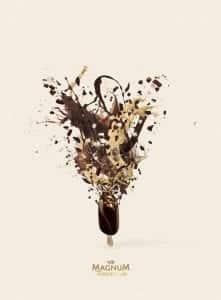 Magnum Temptation acompañados de 'Joyas heladas'