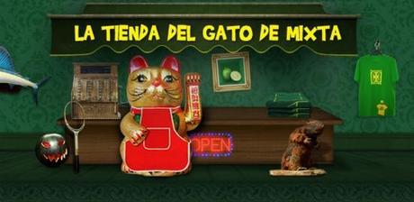 Campaña tienda del gato mixta