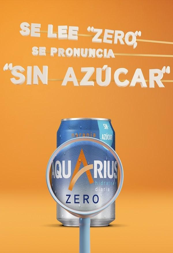 Aquarius Zero Azúcar