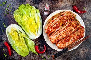 Kimchi comida coreana