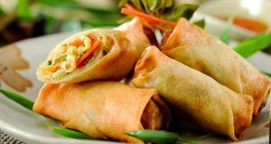 Rollitos de primavera, cocina china